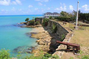 British Fort James Antigua