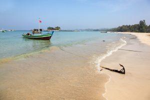Der Ngapali-Strand in Myanmar