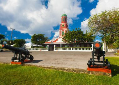 Red Clock Tower Barbados