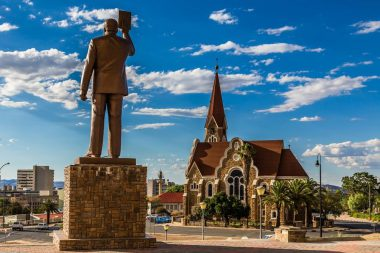 Namibia, Windhoek, Christuskirche