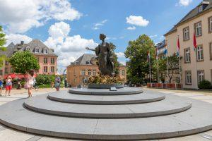 Luxemburg, Monument of Grand-Duchess Charlotte