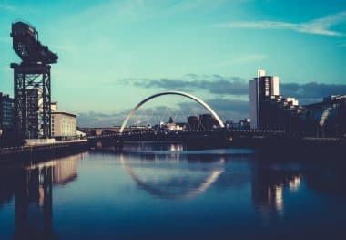 Glasgow, The Clyde Arc