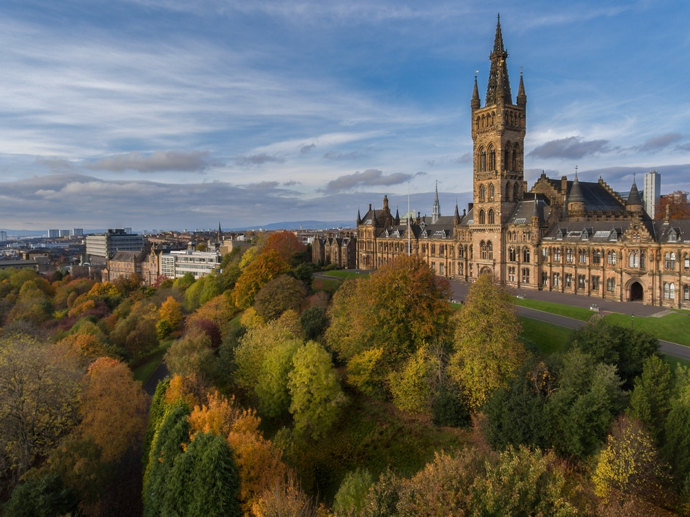 Glasgow, Gilbert-Scott-Tower