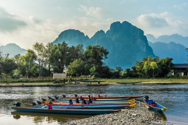 Laos, Nam Song River