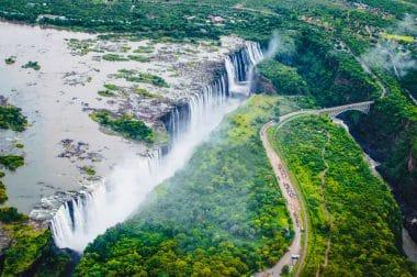 Victoria-Wasserfälle Sambia