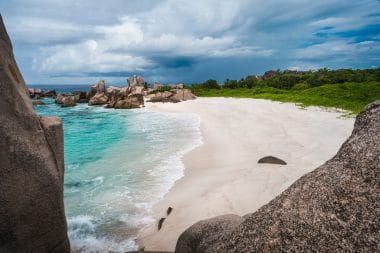 Anse Marron auf La Digue