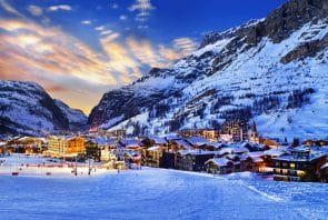 Val d´Isere in Frankreich