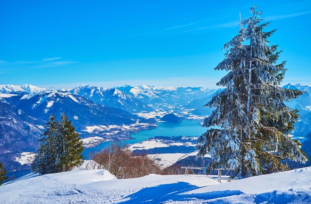 Wolfgangsee in Österreich
