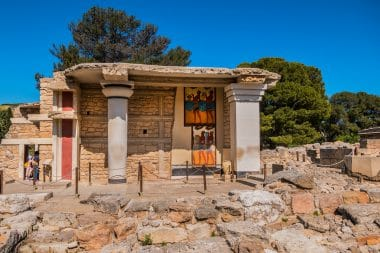 Moinoischer Palast Knossos