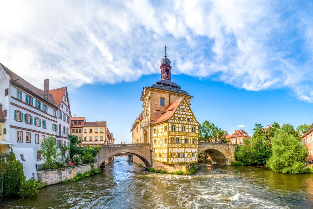 Altstädter Rathaus in Bamberg, Franken