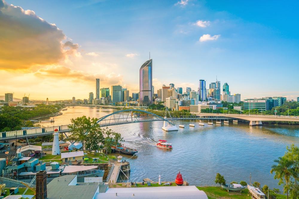 Skyline Brisbane, Australien