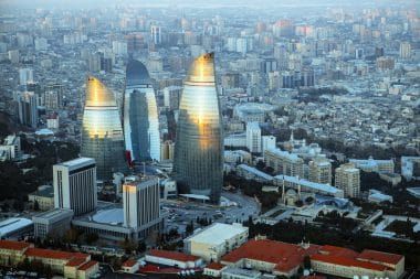 Flame Towers, Baku